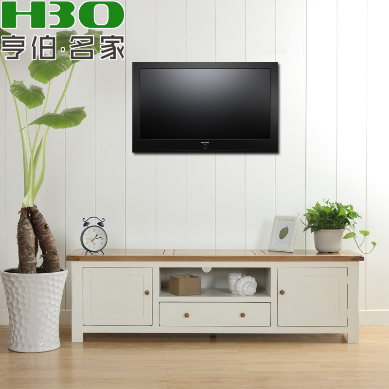Solid wood furniture living room tv cabinet wood tv - Living room with wooden furniture ...