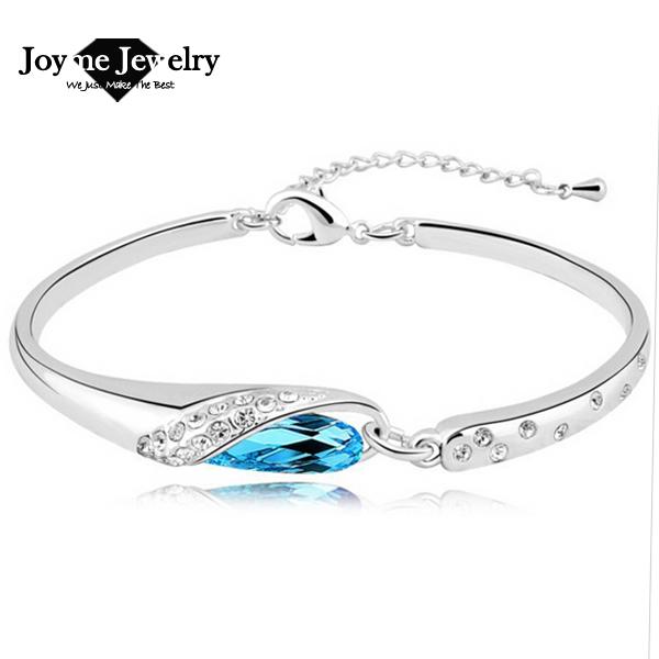 2014 Joyme бренда австрийский серебряный позолоченный браслет женский браслет ювелирных изделий и браслеты