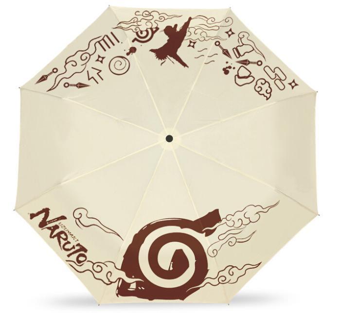 Японский аниме наруто хокаге складной зонтик официальный уф-защитой зонт
