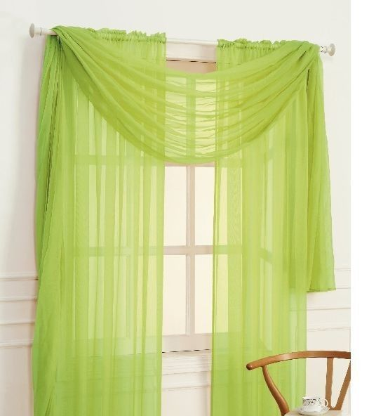 Voile Cafe Curtains Scarf Valance Curtains Valance For