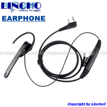 new 2 pin ear bar mic hands free ear loop headset  for walkie talkie baofeng UV5R 5RB 5RC 5RE UV82
