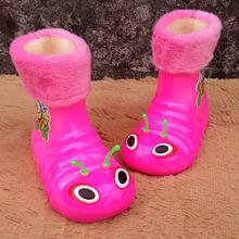 2014 Caterpillar Design children raining shoes winter boots for boys and girls children snow rain boots