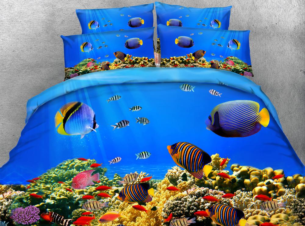 Popular Fish Comforter Sets Buy Cheap Fish Comforter Sets