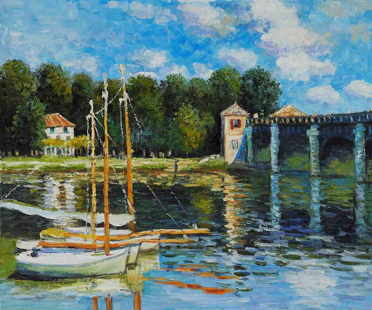 famous artist Oil painting reproduction,Christmas gift ...