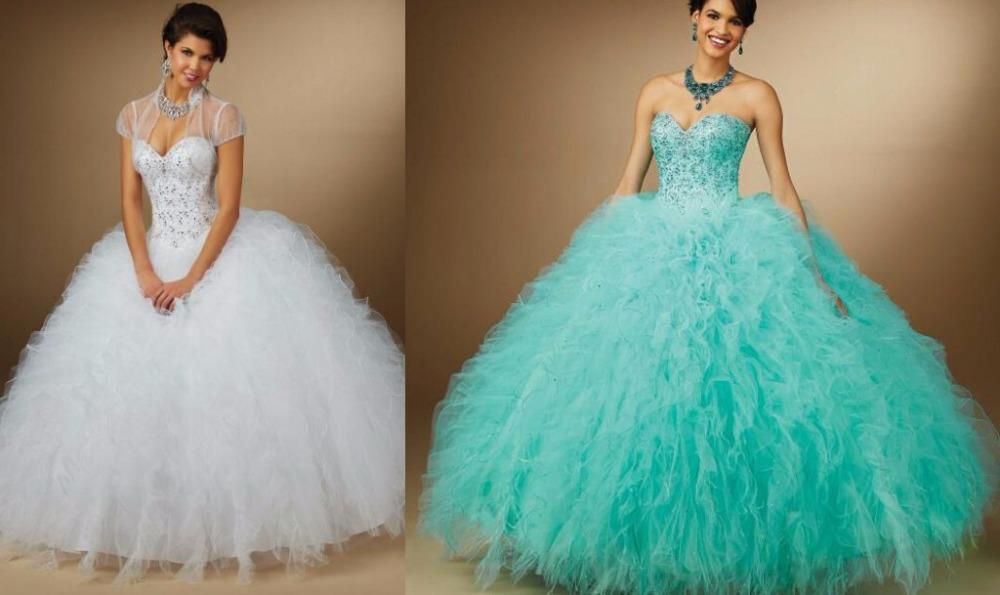 Quinceanera Dresses 2014 Mint Cheap Quinceanera Dresses