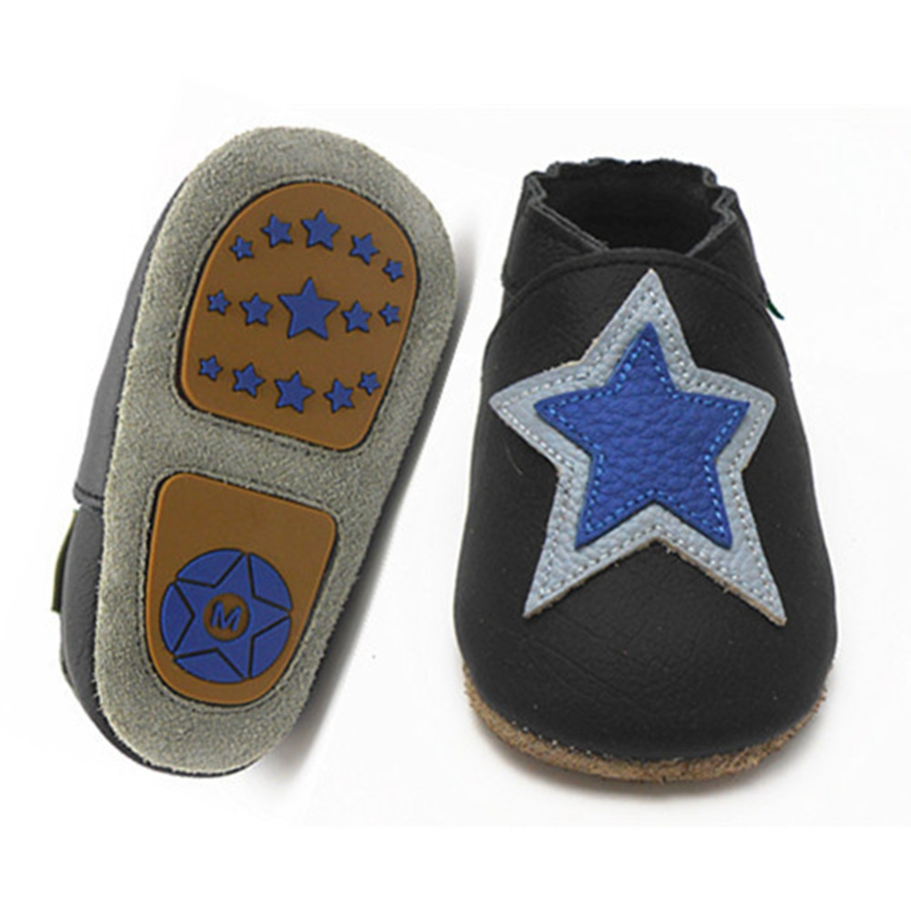 Baby Boy Hard Sole Shoes