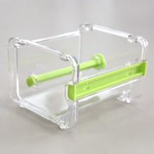 Мини-диспенсер для бумажной ленты Васи, держатель для двух лент, резак, офисный органайзер, аксессуары для стола, школьные принадлежности ...(Китай)
