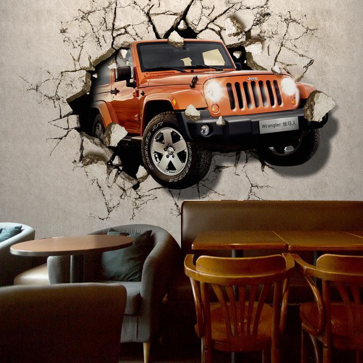Jeep Car Wallpaper: 3d Car Wallpapers Werbeaktion-Shop Für Werbeaktion 3d Car