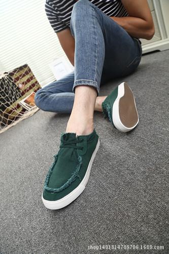 В лето мужчины в свободного покроя обувь брезент обувь спортивная обувь британский студенты обувь один поколения