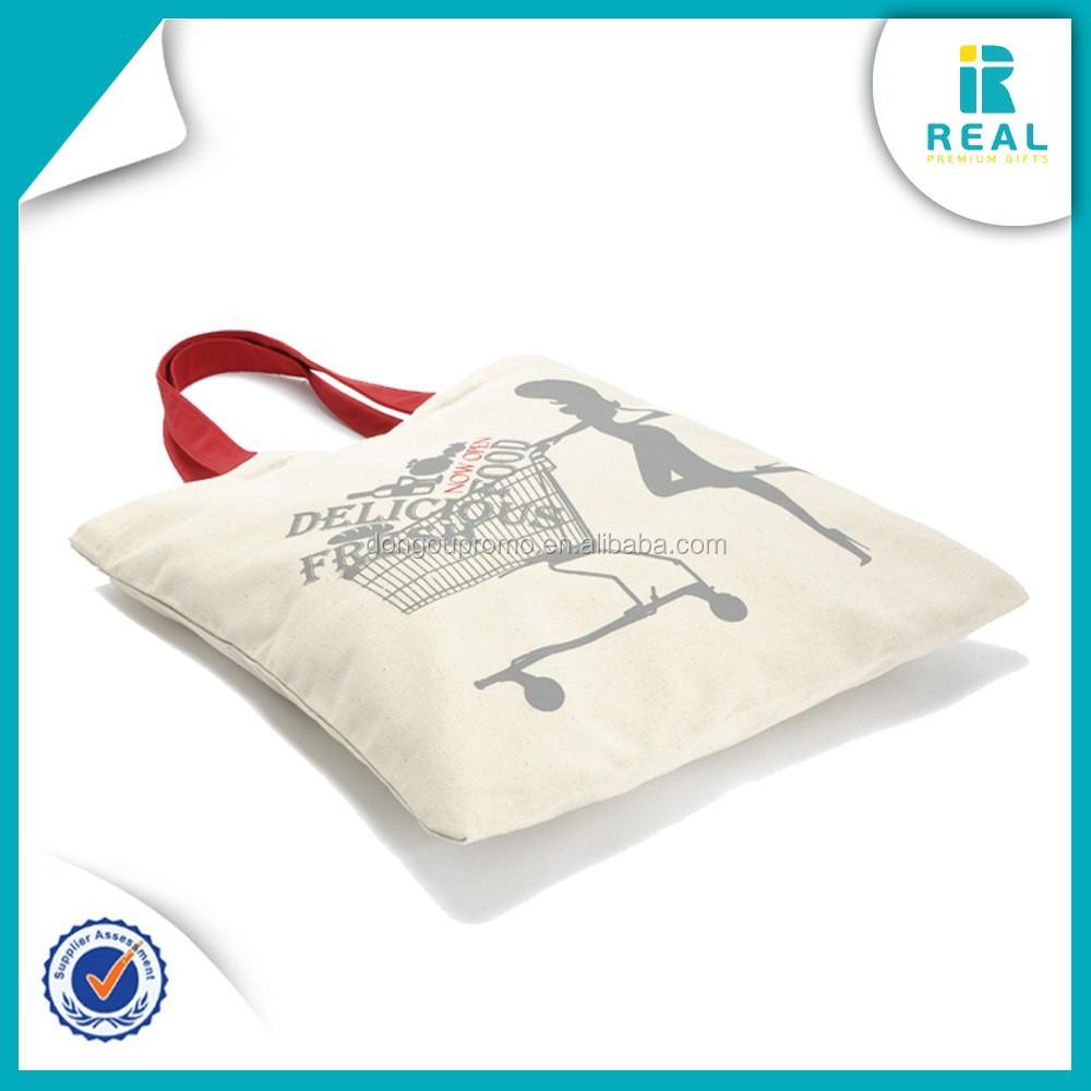 Printed Canvas Tote Bags Bag Custom No Minimum