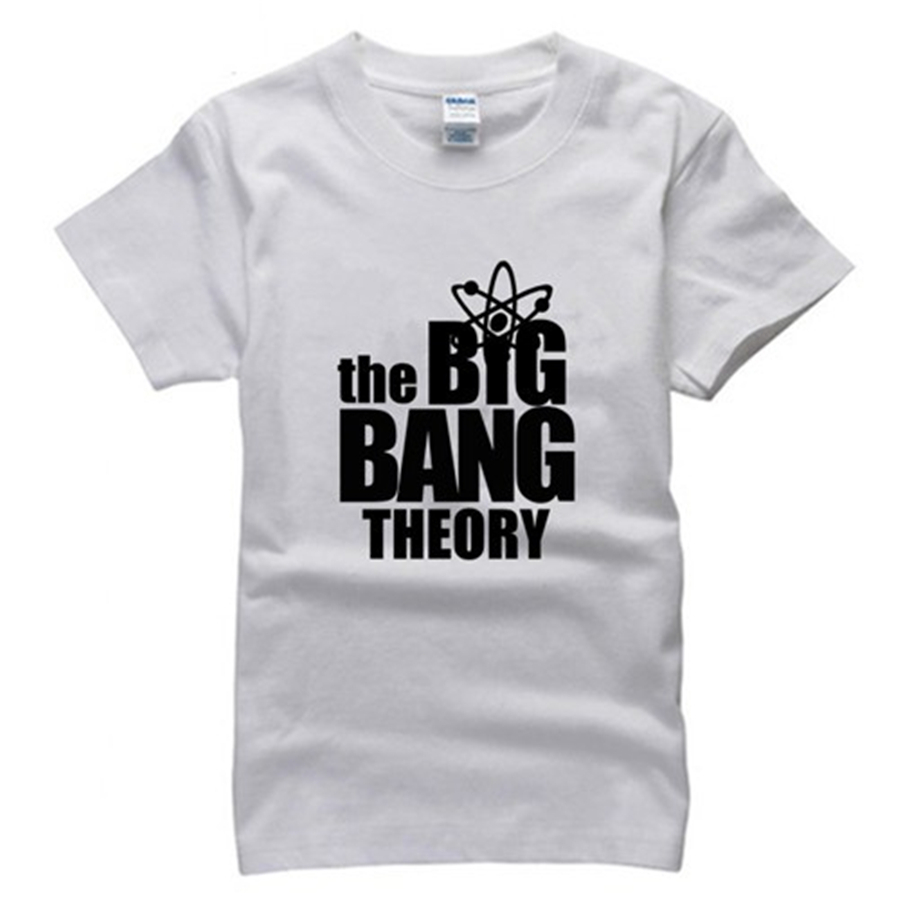 2015 summer famous new brand the big bang theory t shirt. Black Bedroom Furniture Sets. Home Design Ideas