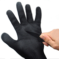 1 Pair Anti cut Anti slip Outdoor Hunting Fishing Gloves Cut Resistant Protective Knife Anti cutting