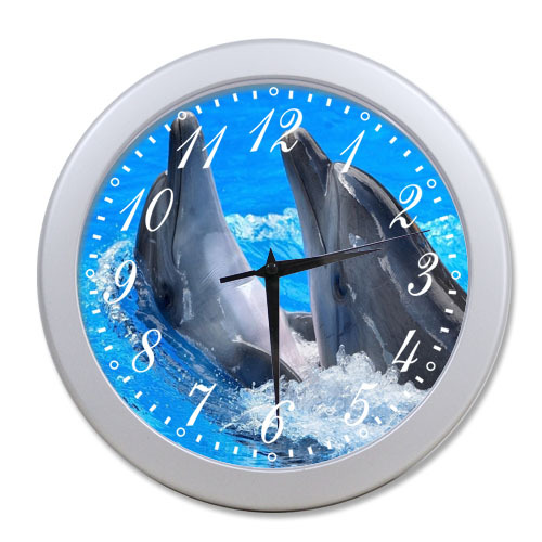 commentaires horloge murale dauphins faire des achats en ligne commentaires horloge murale. Black Bedroom Furniture Sets. Home Design Ideas