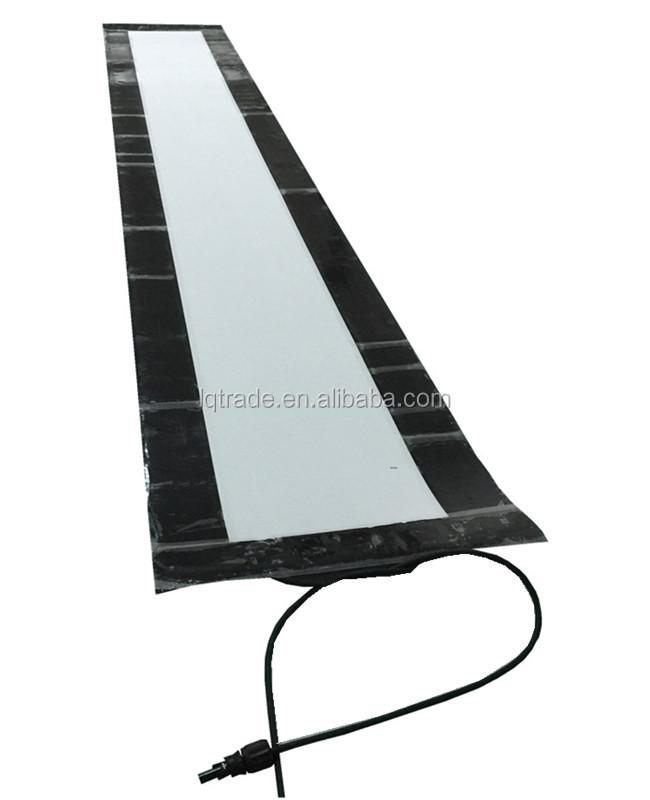 72w Adhesive Back Flexible Amorphous Photovoltaic Solar