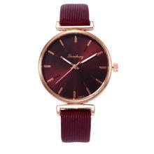 Модные Роскошные Брендовые женские часы, повседневные кварцевые часы Reloj Mujer с кожаным ремешком, аналоговые женские часы, подарок, Relogio Feminino(Китай)