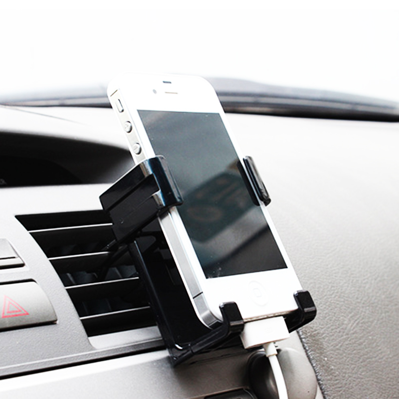Universal Stand Car Holder for Iphone 5 6 6s Plus HTC Samsung Car Air Vent Mount