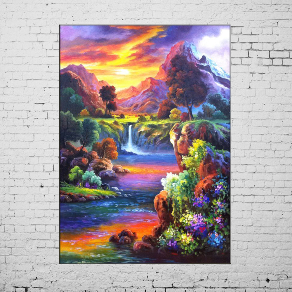 New Oil Paintings Hand Painted Picture On Canvas Modern ...