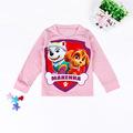 2 6years Children Clothes Cartoon Paw doggie Patrol kids girls clothes cotton t shirt summer children