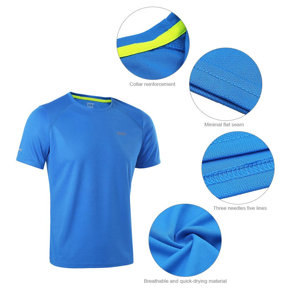 Detail Feedback Questions about Brand Men s T shirt Quick Dry ... 4d5988411de