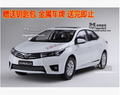 NEW TOYOTA COROLLA 2014 1 18 car model alloy 11th Generation Classic cars Japan diecast boy