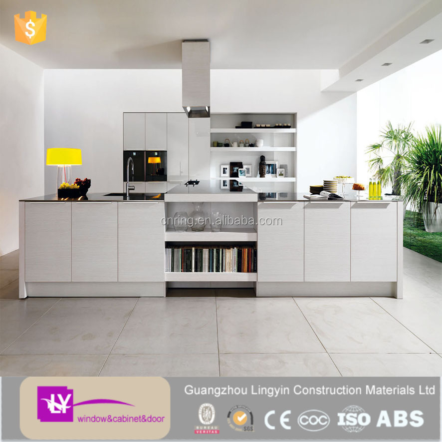 Where To Buy Kitchen Cabinets Wholesale: Europe Shaker Style White Lacquer Kitchen Cabinets