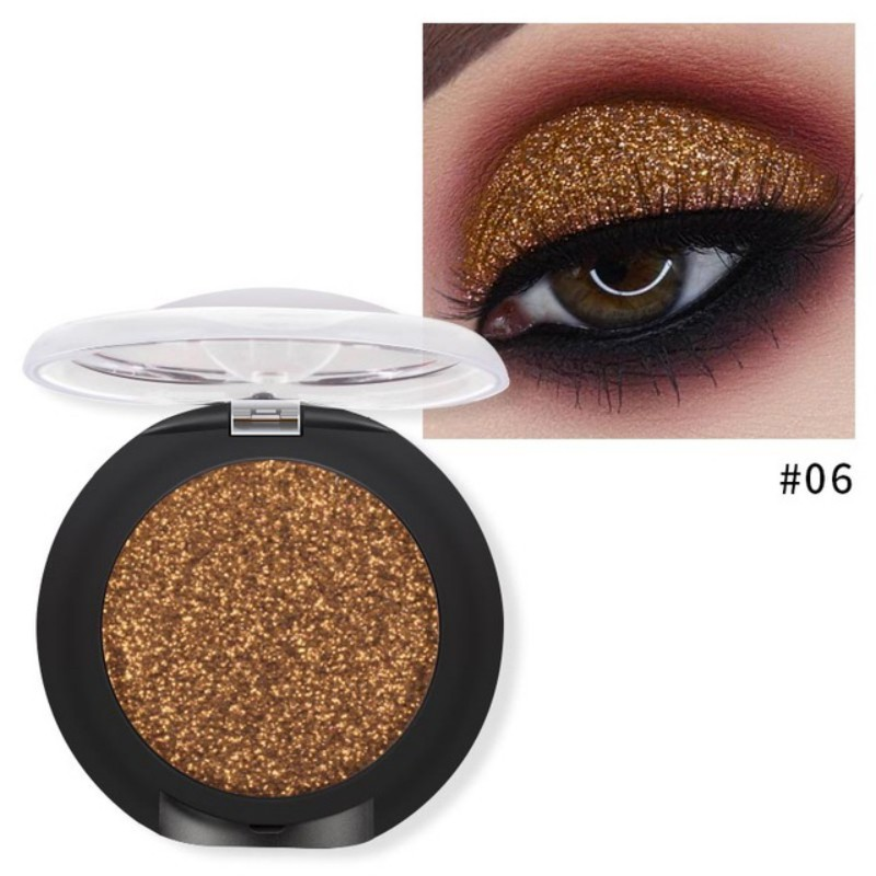 Beauty Essentials Eye Shadow New 23 Colors Single Eyeshadow Professional Glitter Black Smoky Eye Shadow Palette Women Beauty Cosmetic Easy To Color E12 Traveling
