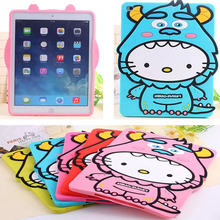 Anti-knock New silicon cartoon character tablette tablet PC for Apple iPad mini 3 2 1 accessory protective back case shell cover
