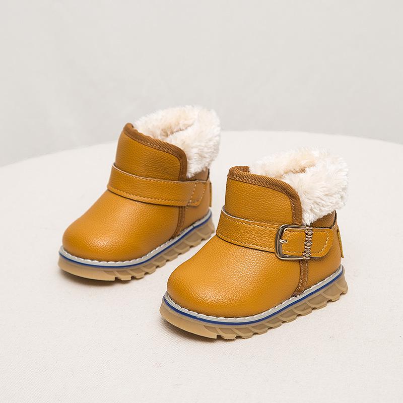 Hot sale children shoes kids boots boys girls boots warm