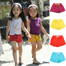 Baby Kid Girl Boy Cotton Sports Shorts Casual Summer Beach Hot Shorts 2-7Y Free Shipping