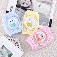2Pairs toddler safety knee pad baby animal mesh sock elbow pads kid baby crawl kneecaps baby leg warmers