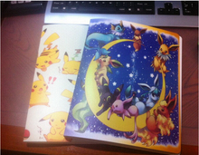 Pikachu Collection Pokemon cards Album BookList playing pokemon cards holder album free shipping