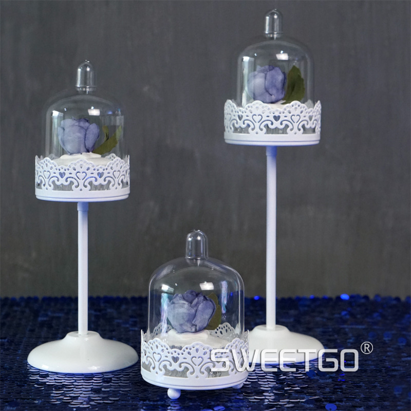 Mini Cake Stand With Dome Wholesale