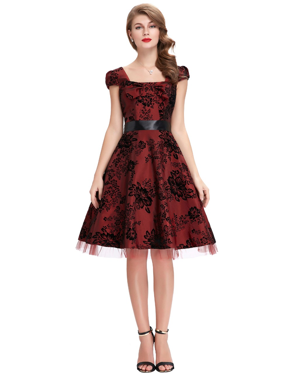 daf84d4770930 Belle Poque Womens Robe Vintage London Palace Dresses 2017 Pin Up ...