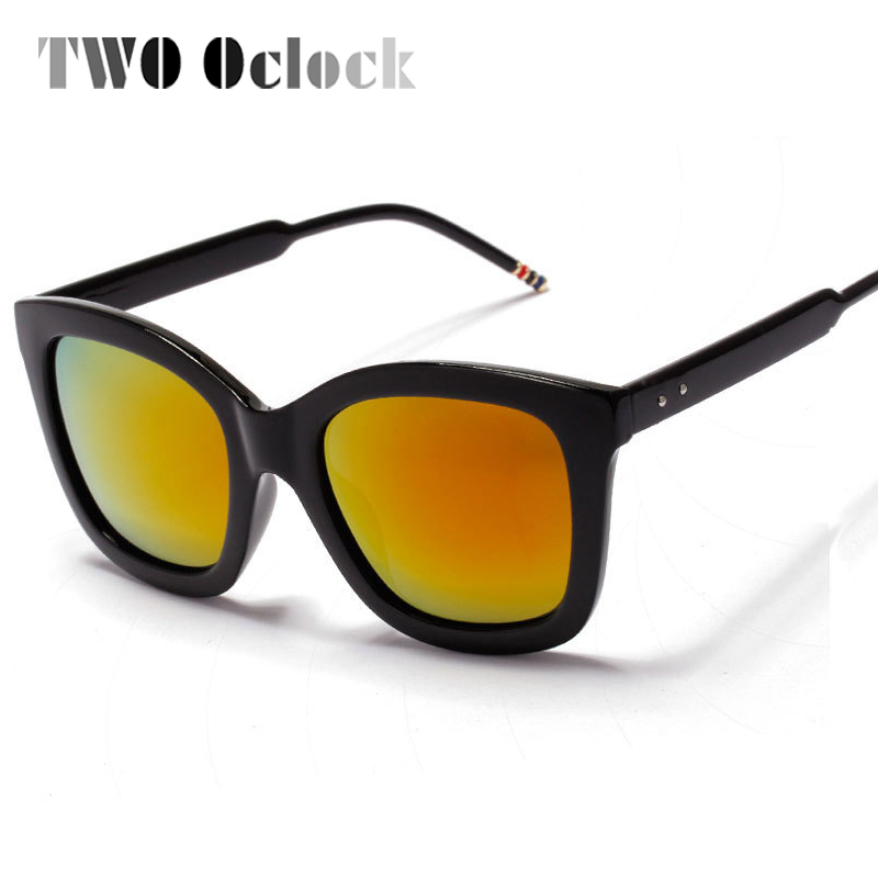 b2b9139814d TWO Oclock Korea Brand Luxury Polarized Sunglasses Women Designer Coating  Sun Glasses Eyewear .