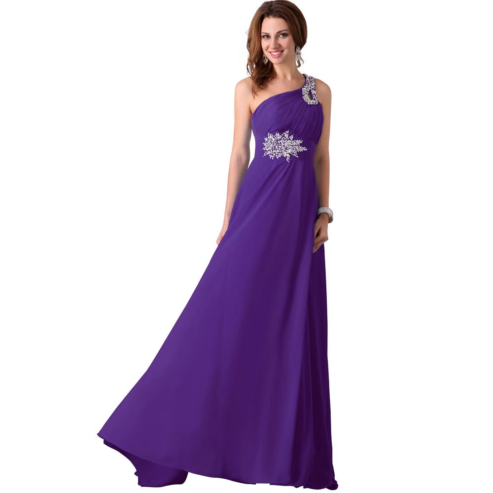 Turmec Purple Ombre Formal Dress