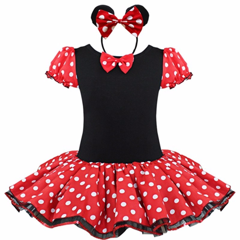 2016 Kids Gift Minnie Mouse Party font b Fancy b font Costume Cosplay Girls Ballet Tutu