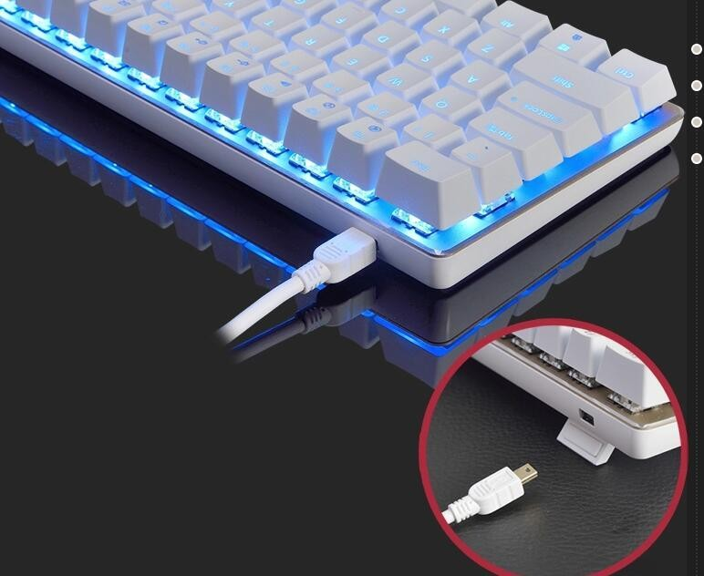 Wholesale Ajazz Ak33 Backlight Mechaincal Gaming Keyboard