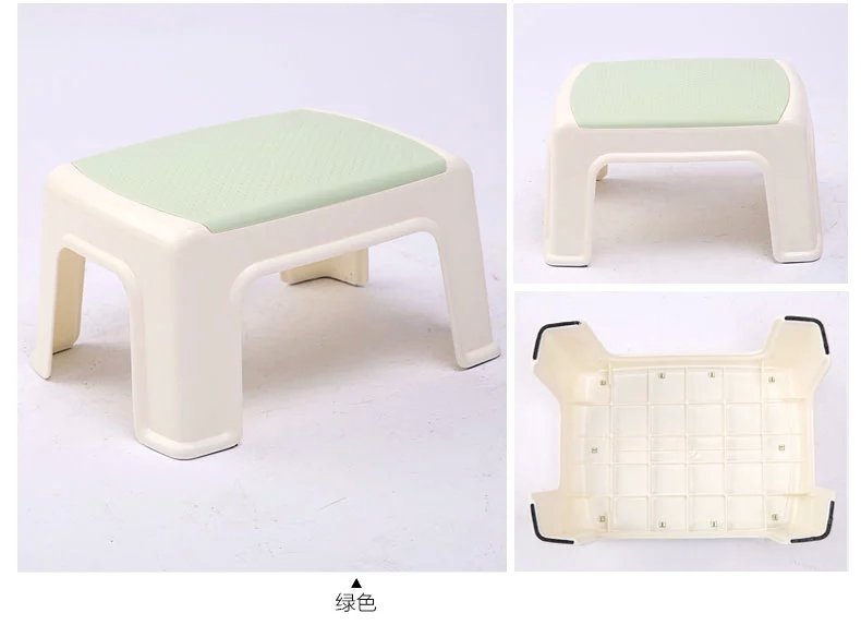 Colorful Adult Or Kids Non Slip Pp Step Stool Plastic