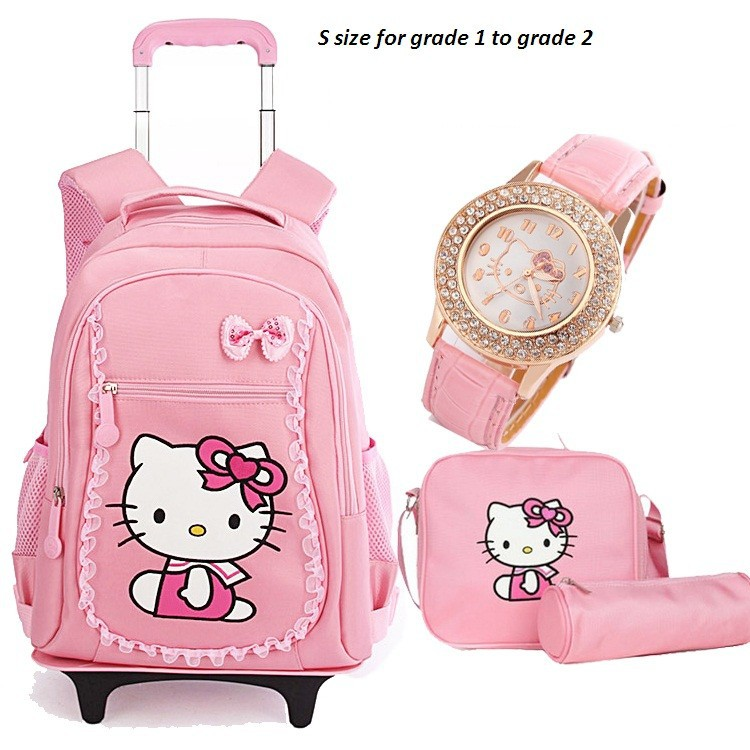 499b1cfb76f3 Detail Feedback Questions about Hello Kitty Children School Bags ...