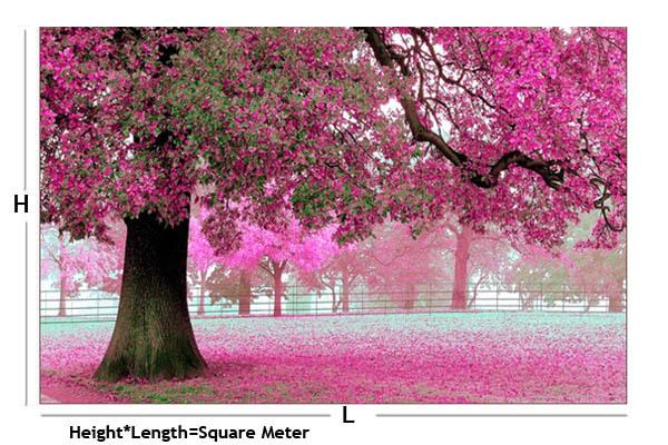 3D Wall Murals Cherry Blossom Wallpaper Photo Waterproof