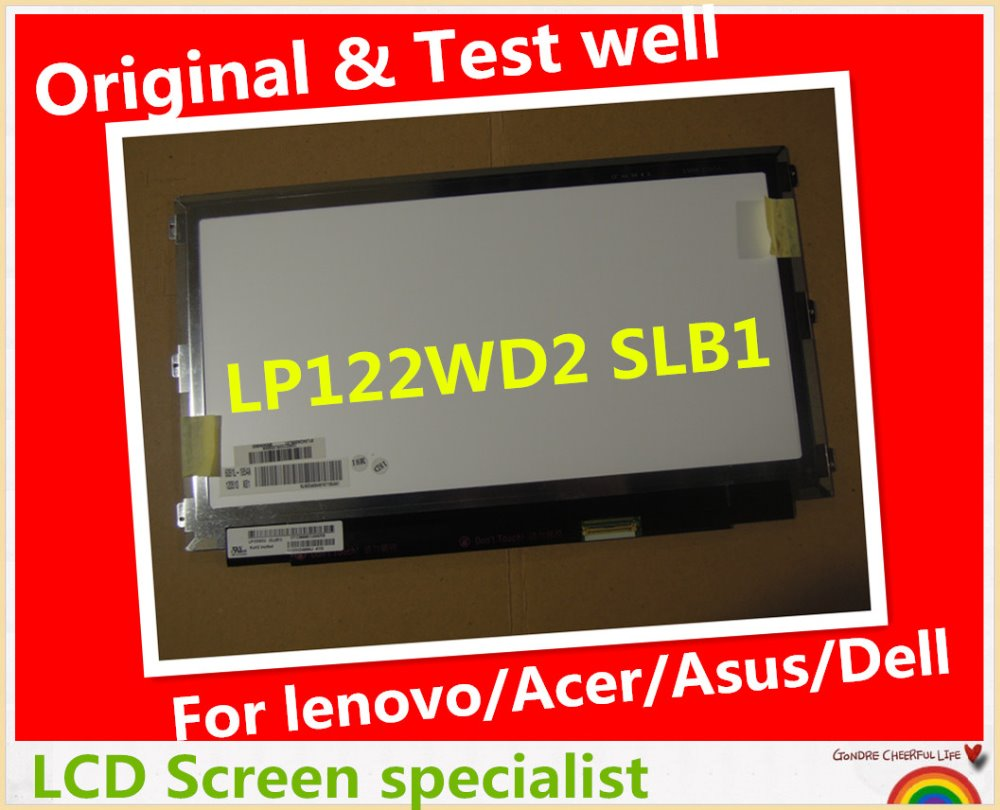 High quality 13.3 inch LED display panel For Lenovo tablet laptop IdeaPad Yoga 13 LP133WD2 SLB1