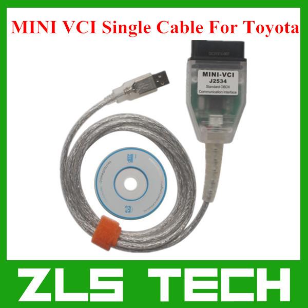 2015 последние мини-vci для Toyota тис Techstream V10.10.018 одного кабеля мини-vci для Toyota J2534 диагностический инструмент бесплатная доставка