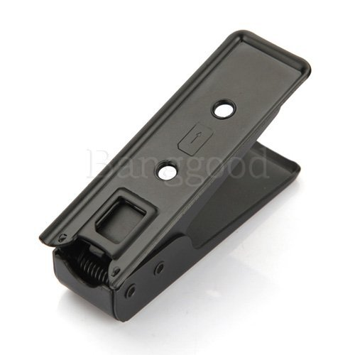 Черный микро-sim-карты стали металл картонорезальные + 4 Sim адаптеры для iphone 4 4S ipad 3 г Galaxy S3 S4 HTC One X