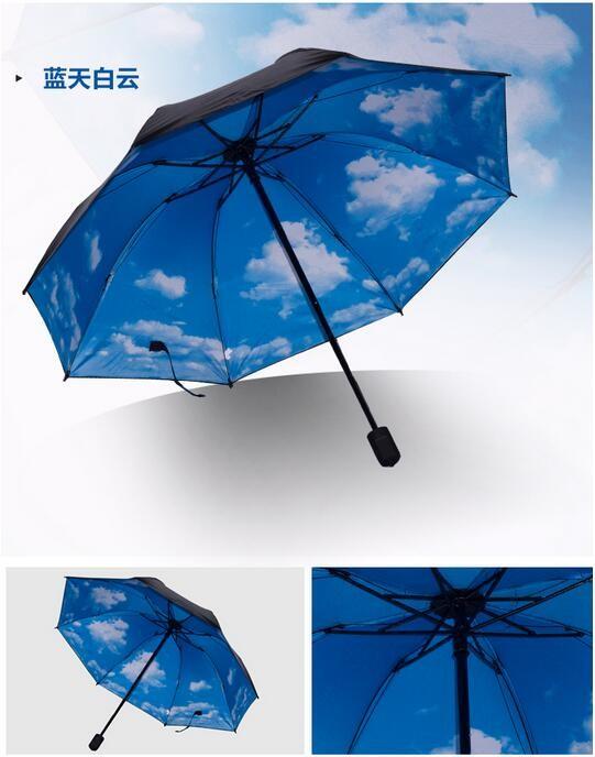 Rain Men Folding Folded Women Umbrella Three Creative 7wgIEqR