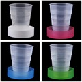 2016 New Portable Travel Cup Retractable Folding Mini Telescopic Collapsible Outdoor