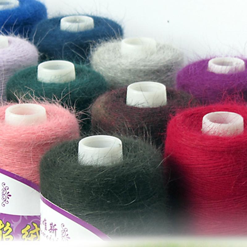 пряжа пух норки long mink wool