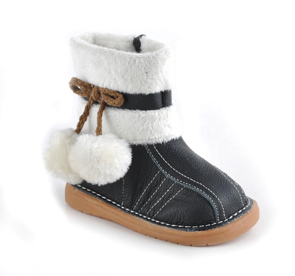 Aliexpress.com : Buy SandQ baby children soft leather snow