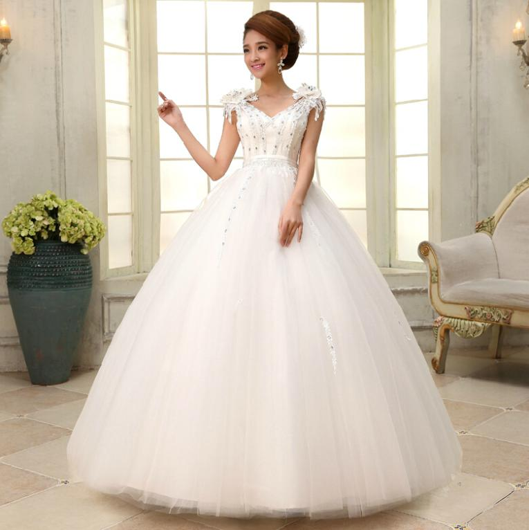 Latest Wedding Gowns 2014: Wedding Dress New 2014 Fashion Wantonness The Bride Long