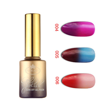 12pcs Florales Temperature Change Nail Gel 15ml 12 colors for choices