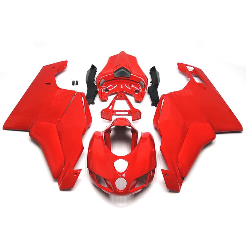 Полный обтекатели установите Ducati 749 999 999 s год 05 06 2005 2006 Sportbike ABS мотоциклов обтекателя Kit кузов мотоцикл глянцевый красный